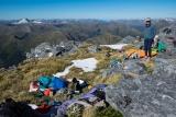 No activity on Mount Nantes, Fiordland