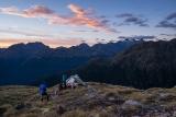 Camp below Koinga Peak, Fiordland