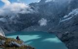 Otoko Glacier lake