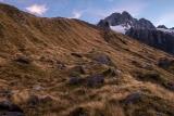 Campsite below Mount Hooker