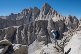 Leaving Mount Whitney