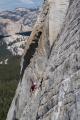 Climber on Medlicott Dome
