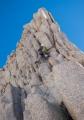 Climbing Fishhook Arete, Mount Russell