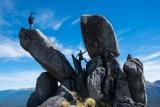 Split tor, Mount Titiroa, Fiordland