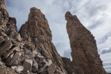 Below 'Tower of Madelon', East Greenland