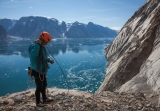 Coiling the rope, East Greenland