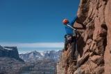 Climbing on Bear Islands, East Greenland