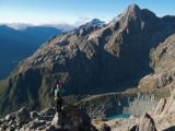 Above Madeline Creek, Darran Mountains, Fiordland National Park