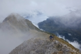 Southern end of the Dark Cloud Range, Fiordland National Park