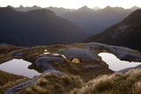 Camp on the Dark Cloud Range, Fiordland National Park