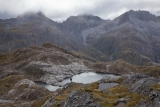Below Tamatea Pass, Merrie Range, Fiordland National Park