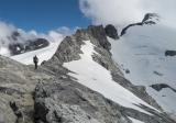 Tom about halfway to Halfway Peak