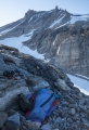 Bivouac below Grundtvigskirken, East Greenland