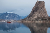 Sea kayaking, Bear Islands, East Greenland