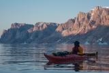 Sea-kayaking, East Greenland