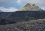 Walkers and Hattafell peak, Iceland