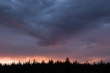 Stormy sunset, Tuolumne Meadows