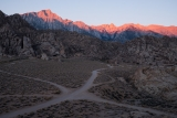 Sierra sunrise from Alabama Hills