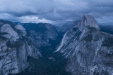 Tenaya Canyon and Half Dome
