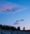 Evening clouds, White Mountains
