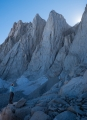 Ethereal light, eastern ramparts of Mt Whitney