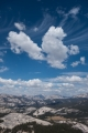 Cloudscape over Tuolumne Meadows