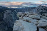 Evening view from Half Dome