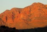 Sunset, Mount Giles massif