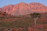 Afterglow, Mount Giles massif