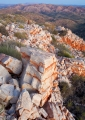White quartzite, Chewings Range