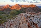 Sunset, Chewings Range