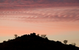 Hill silhouette