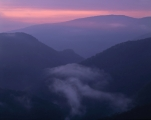 Hellgate Gorge, daybreak
