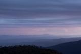 Mount Colong, evening sky