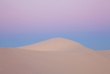 Dune and earthshadow, Mungo National Park