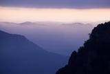 Pre-dawn ridges, Wolgan Valley
