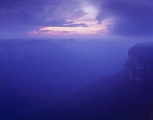 Grose Wilderness, summer's blue dusk