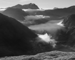 To Mount Crowfoot, Fiordland