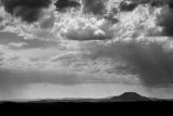 Showers over Mount Yengo