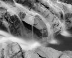 Cascades over granite