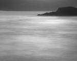 Southern Ocean headland, dusk