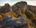 Sandstone towers, Gardens of Stone National Park