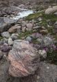 Gneiss boulder