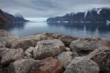 Shoreline boulders, Ofjord