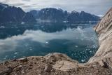 Towards Korridoren glacier