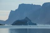 Iceberg and Milne Land bluffs