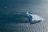 Iceberg and choppy waters, Ofjord