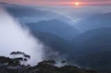 Sunrise, Kowmung River valley
