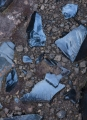 Obsidian fragments