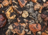 Rhyolite gravel